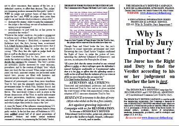 jury nullification essay The relationship between race and jury decision making is a controversial   representativeness, how to optimize jury performance, jury nullification and racial.