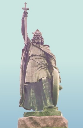 KING ALFRED THE GREAT, 871-899.